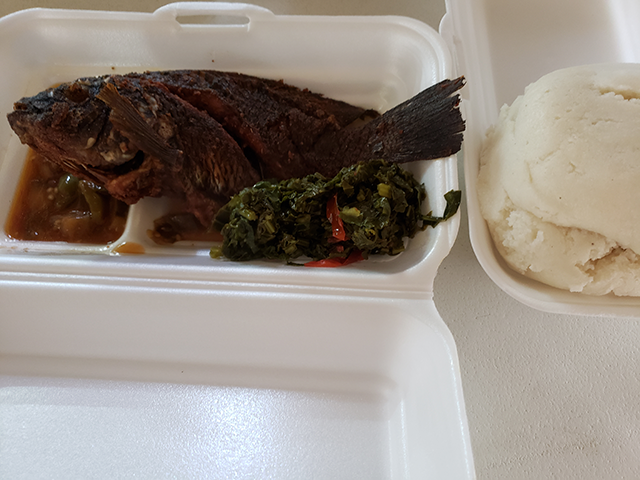 My favorite Zambian meal