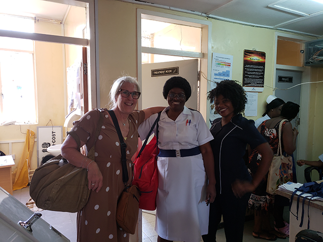 Dr. Slover and Zambia Nurses